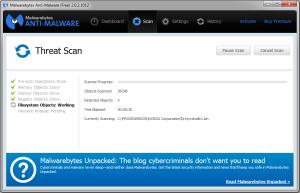 Malwarebytes Anti-Malware - проверка компьютера на вирусы