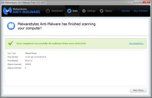 Malwarebytes Anti-Malware - на страже вашего компьютера.