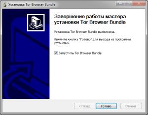 Установка Tor