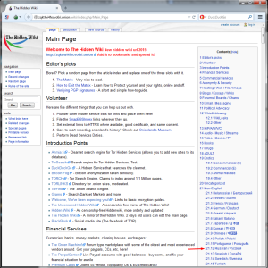 Hidden Wiki