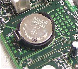 Замена батарейки BIOS