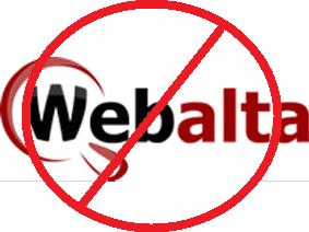 Удалить webalta
