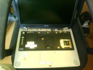 Залитый ноутбук