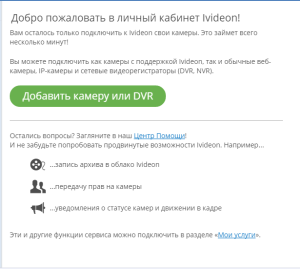 Видеонаблюдение с помощью веб-камеры