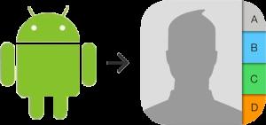 Как сохранить контакты Android