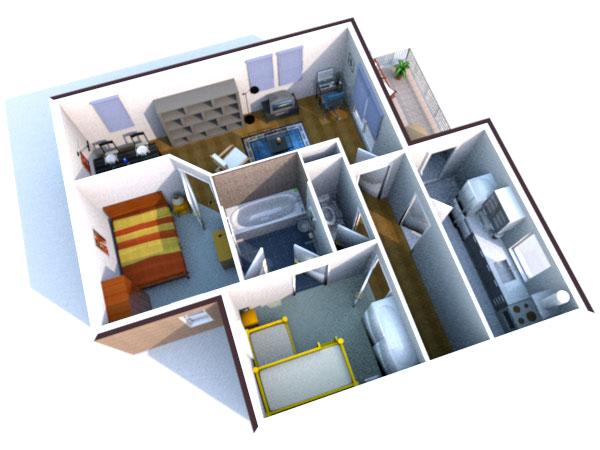 Скачать программы для планировки мебели квартир