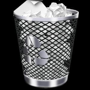 Как убрать ярлык Корзины с рабочего стола