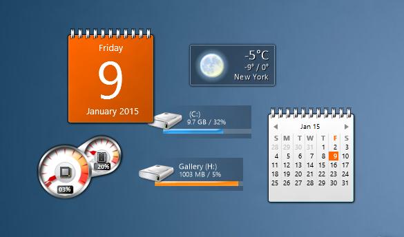 gadget windows 7 gratuit