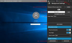 Как изменить фон экрана входа в Windows 10