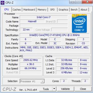 Как узнать конфигурацию компьютера