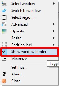 Как управлять и просматривать не активное окно